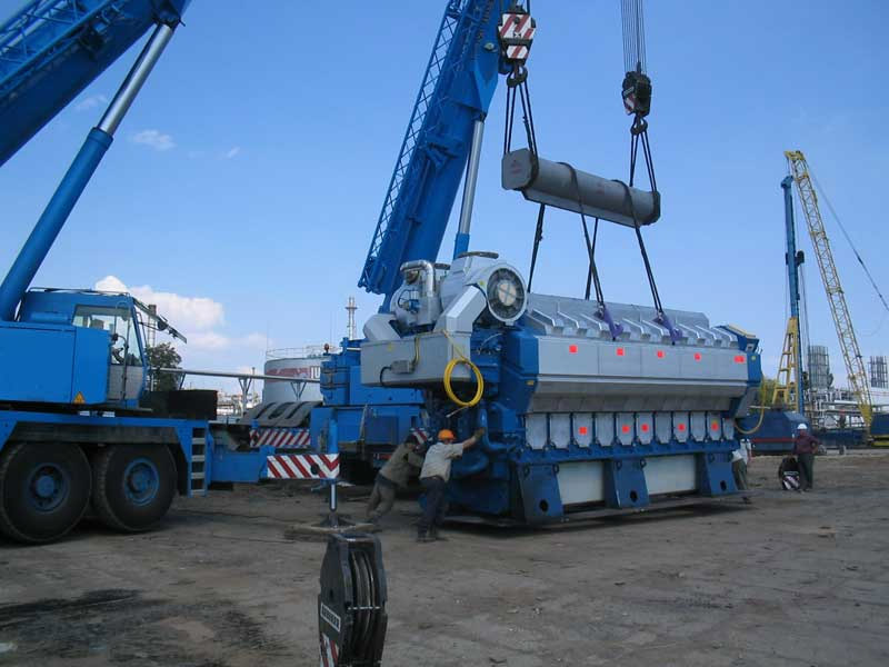 2 Construction of a power unit LUKOIL ENERGY AND GAS UKRAINE