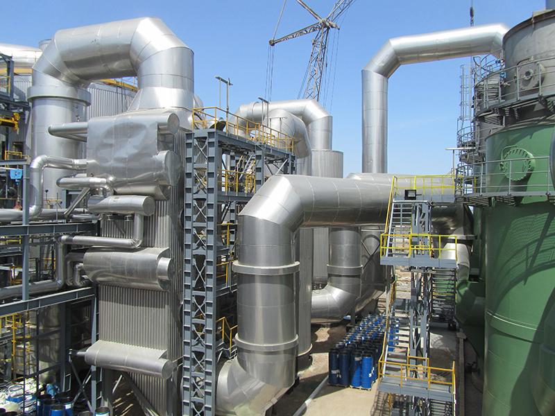 4 Stroitelstvo elektrostantsii moshchnostyu 6 MVt na GAK TITAN 800
